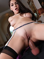 Amazing Valentina loves naughty double penetration