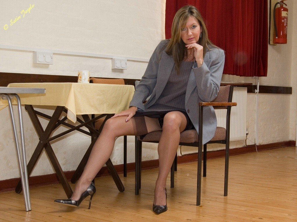 Remarkable question satin shorts and pantyhose excellent